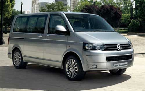 transporter shuttle Volkswagon 8 seater car