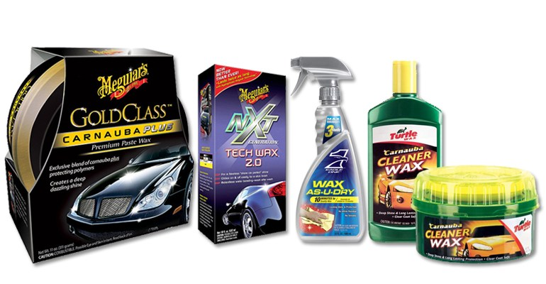 car wax types